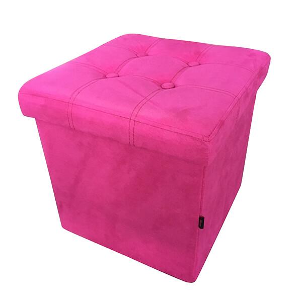 Табуретка Homa 582, Велур- цвят Розов