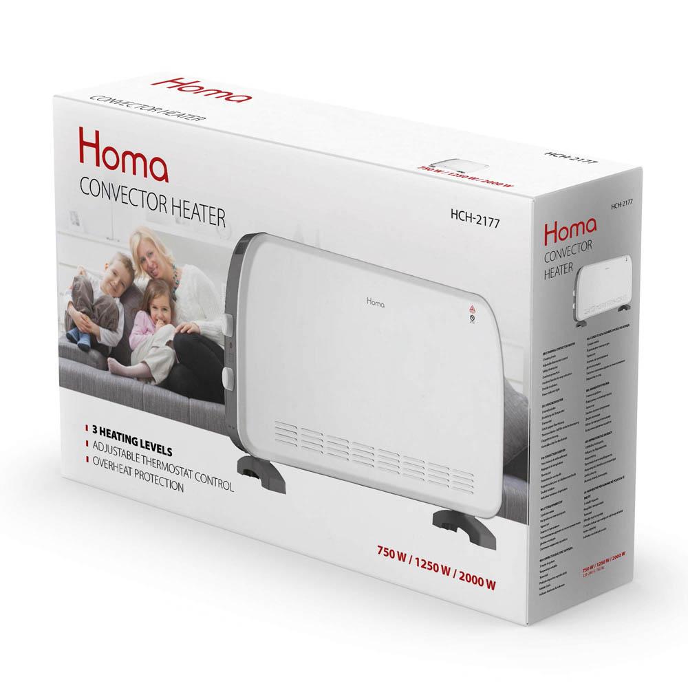 Конвекторна печка HOMA HCH-2177