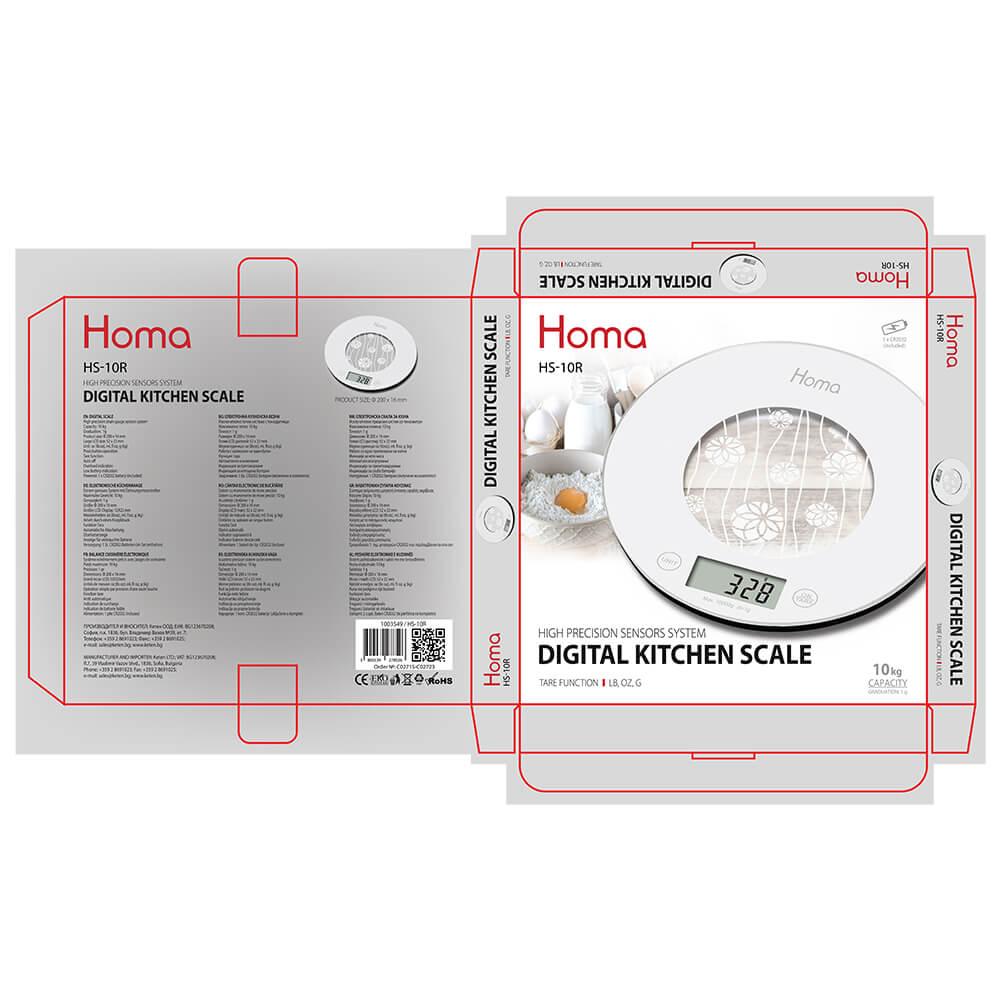 Везна кухненска HOMA HS-10