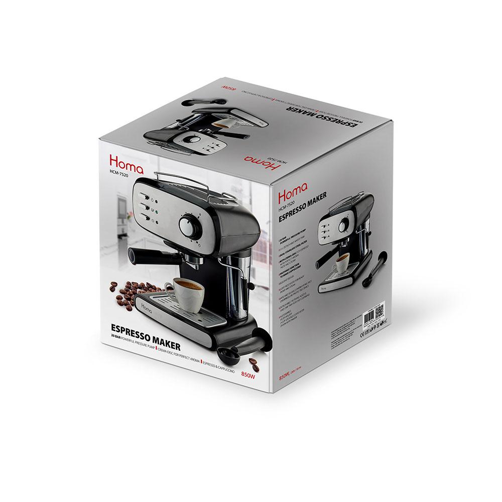 Еспресо машина HOMA HCM-7520