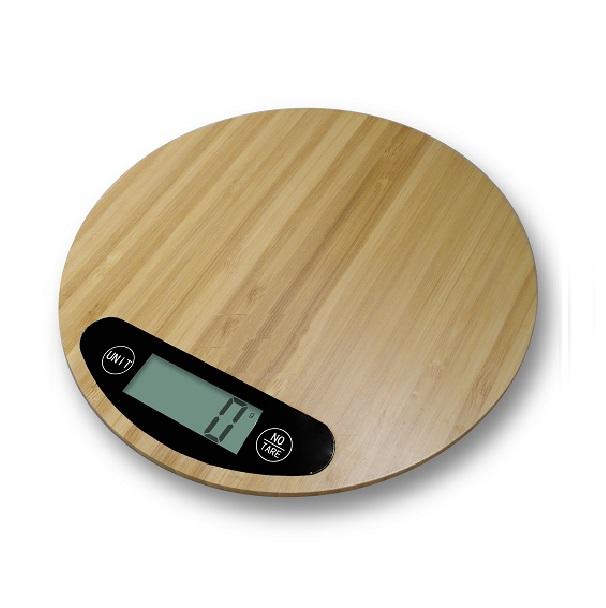 Везна кухненска бамбук HOMA HS-555B