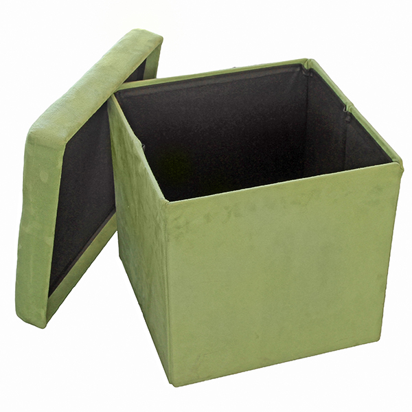 Табуретка Homa 583, Велур- Зелен