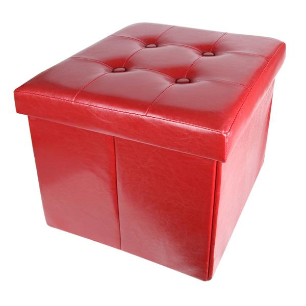 Табуретка Homa 102, червена